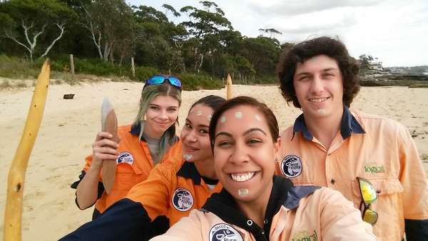 Aboriginal Riverkeeper team