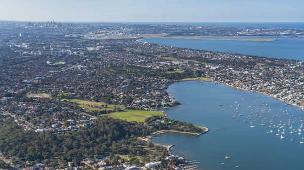 Georges River - Aerial photo