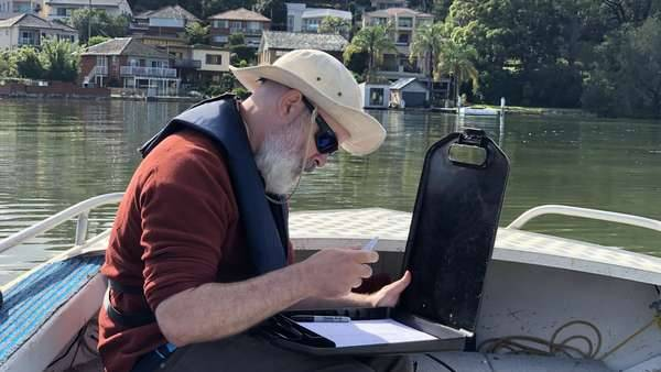 Dr. David Reid - water quality monitoring on the Georges River