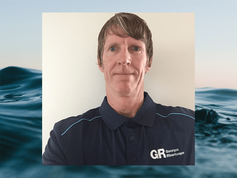 Peter Ryan, Georges Riverkeeper Program Manager appointed March 2020