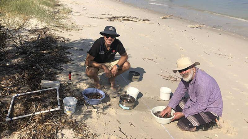 AUSMAP sampling December 2019 with  Scott Wilson from Macquarie University