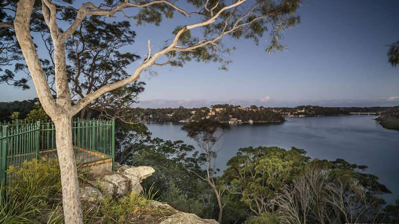 Georges River - Overlooking bushland