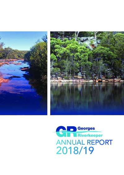 Georges Riverkeeper Annual Report 2018/19