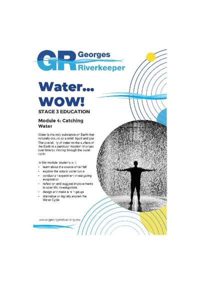 Georges Riverkeeper Stage 3 Education Module 4