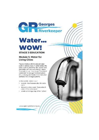 Georges Riverkeeper Stage 3 Education Module 5