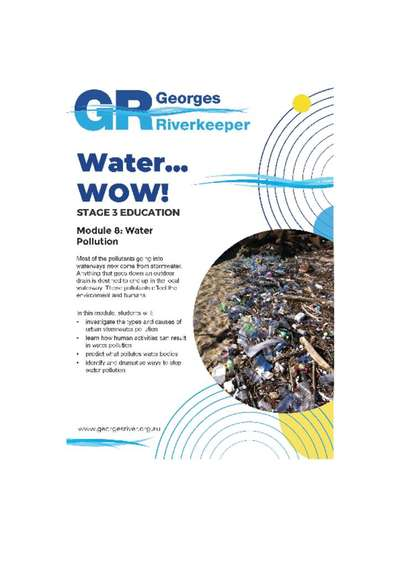 Georges Riverkeeper Stage 3 Education Module 8